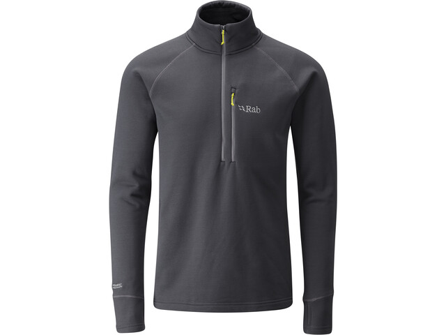 Rab Power Stretch Pro Pull-On Sweater Men, gris